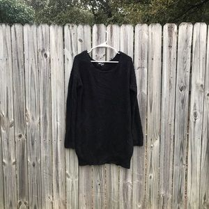 Rage black and gold oversize sweater by Ana